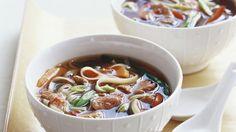 Rezept: Scharfe Rindersuppe auf thailändische Art