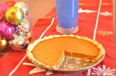Gluten free/ milk free pumpkin pie