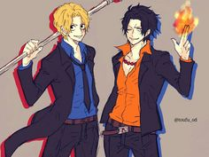 Sabo and Ace