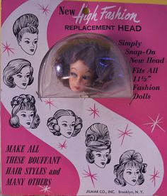 Vintage doll - Barbie clone doll head