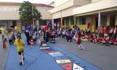 atividades recreativas para educação infantil corrida