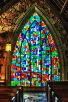 #stainedglass  Ida Callaway Memorial Chapel  (by Richard Greuel, via 500px)