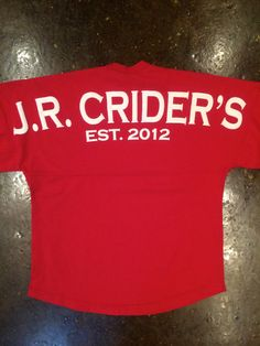 The J.R. Crider's Spirit Jersey - Red $49.99