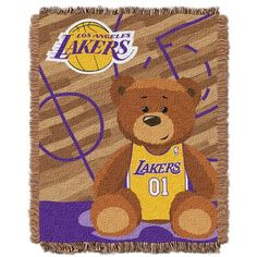 low priced f3fbc 51f06 Northwest Co. NBA Lakers Half Court Baby Throw