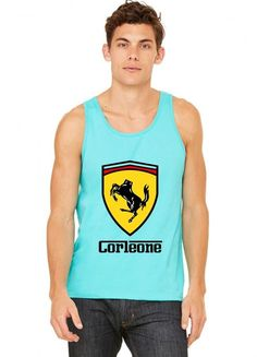 scuderia corleone (collab with jay hai) funny Tank Top