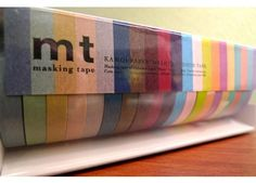 washi tape color overload