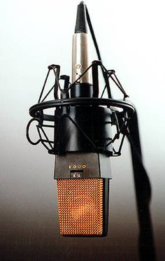 When I start getting together my own equipment, this will be one of the first microphones I invest in. The alpha, the omega, the AKG Microphone Studio, Vintage Microphone, Sound Studio, Home Studio Music, Radios, Studio Equipment, Studio Gear, Dj Equipment, Recording Studio Design