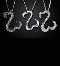Sterling Silver Open Heart Necklace - Save 83% Just $24.00 - Free Shipping!