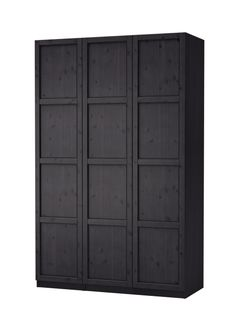 PAX/HEMNES wardrobe with three doors #IKEA #PinToWin there is storage for every garment!!!