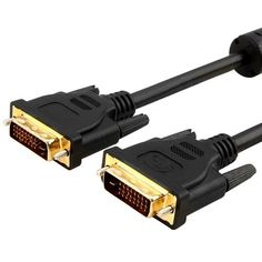 eForCity 6 ft DUAL MALE M/M DVI-D to DVI-D VIDEO CABLE by eForCity. $4.72. Digital Visual Interface (DVI) is the standard interface for a high-performance connection between PCs and flat panel displays, digital CRT displays, projectors, and HDTV.DVI Dual-Link Digital/Digital Video Cables from Impact Acoustics deliver the high-performance, high-bandwidth interface needed for video displays of today while leaving headroom for the products of tomorrow. These precision-engineer...