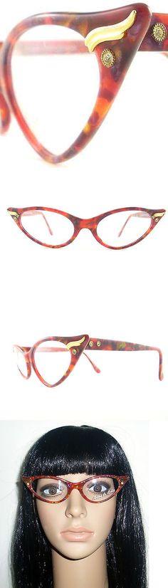 Eyeglasses 175805: Vintage Cat Eye Glasses Eyeglasses Sunglasses New Frame Eyewear Marbled Shades -> BUY IT NOW ONLY: $100 on eBay!