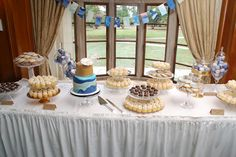 Sweets table from Sweet Heather Anne at Concordia University wedding