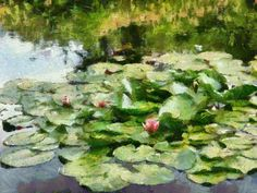 Monet Style, made with Dynamic Auto Painter