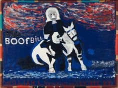 William L. Hawkins, Boof Bill, 1984, Harvard Art Museums/Fogg Museum.