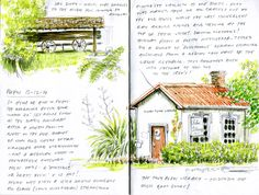 Urban Sketchers: Getting all bohemian in Puhoi