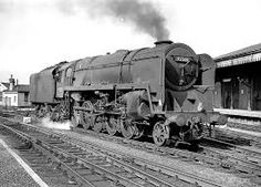 Image result for find photos of Class 9F locomotives