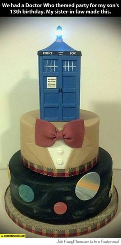 Doctor Who themed party...