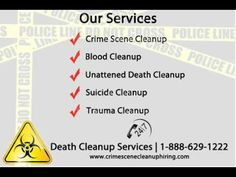 #CrimeSceneCleanup #Irvine #California If you need immediate assistance for Crime Scene Cleanup,HazmatCleanup CALL us 24/7 at 1-888-477-0015.We provide service crime scene clean up Irvine CA, USA