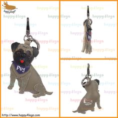 Pug Genuine Leather Bag Charm http://www.happy4legs.com/#!pug-bag-charm-1/d8qhm