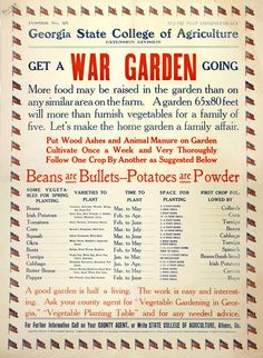 Beans are bullets: War-era food posters – Boing Boing food poster – Dinner Food Permaculture, Wartime Recipes, Dig For Victory, Family Of Five, Victory Garden, State College, Vintage Ads, Vintage Food, Vintage Ephemera