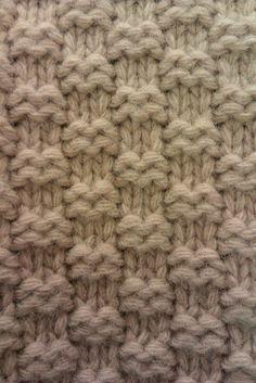 Doubled seed stitch? A men's jumper in Debenhams.