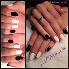 COLORS:#Gelish #BlackShadow   #wellmanicured #nailart #nailartist #nails #gelish #manhattanbeach #la #melaniemcculley