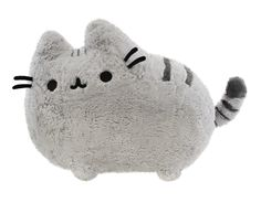 "20"" BIG Pusheen plush toy $49.00 There are not a lot of stuffed animals I would own, but things like this are just so cute, I wish my wallet was bottomless."