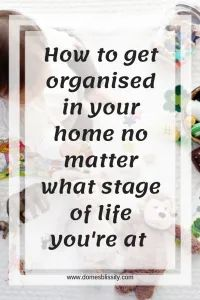 How to get organised in your home no matter what stage of life you're at - Domesblissity Declutter Your Home, Organize Your Life, Organizing Your Home, Organisation Hacks, Life Organization, Organising Ideas, Getting Organized, Get Organised, Have A Shower