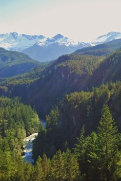 On the way to Whistler, BC, Canada