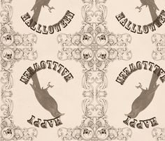 Raven fabric by viewfromtheskye on Spoonflower - custom fabric