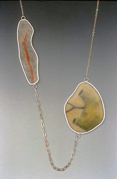 "Emily Watson: metal enamel jewelry: ""rendered"""