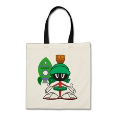 Marvin Front Tote Bag
