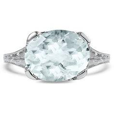 Blue Sapphire Women S Engagement Ring In Gradient Design