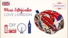 Mini estojinho Love London | Minha Mãe na Costura