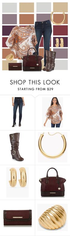 """Fiona"" by lannlpz ❤ liked on Polyvore featuring Jennifer Lopez, Chico's, Journee Collection and Brahmin"