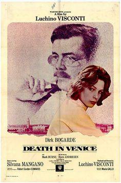 Death In Venice (1971) D: Luchino Visconti. Dirk Bogarde, Silvano Mangano. 28/05/03