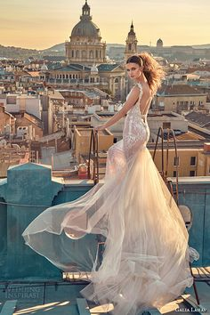 Days before the unveiling of Galia Lahav's latest wedding dresses in New York, there was already a thick air of anticipation among