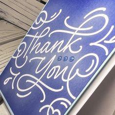 Flourish Thank You Stamp    Beginners & Beyond