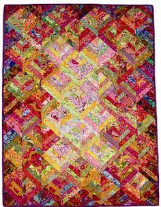 Kaffee Fassett quilt pattern