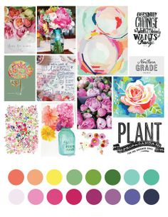 """Message Boards - """"May Moodboard"""" - Announcements - Two Peas In A Bucket Colour Pallette, Colour Schemes, Color Trends, Color Combos, Color Patterns, Print Patterns, Mood Colors, Colours, Web Design"""