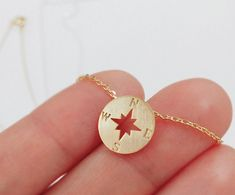 Compass necklace  This is Compass necklace. So cute& adorable!!! :D All Jewelry All the Time with Ellies Button!   LENGTH: 15.5 PENDANT SIZE: 12mm