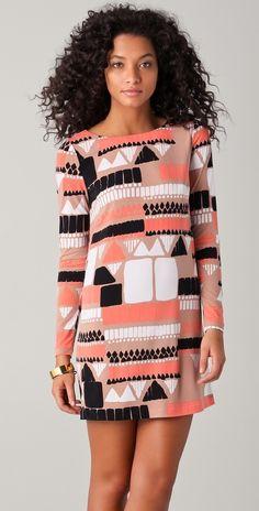 print dress - Tibi