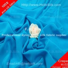 http://www.silkfabricwholesale.com/14mm-silk-crepe-de-chine-fabric-turquoise.html    F.D. silk most professional 14mm silk crepe de chine fabric-turquoise supplier.