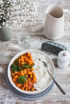 Chana Masala, Food And Drink, Meals, Vegan, Vegetables, Ethnic Recipes, Cardio, Sauces, Drinks