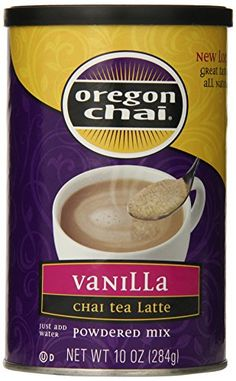 Oregon Chai Vanilla Chai Tea Latte Mix, 10 Ounce *** This is an Amazon Associate's Pin. Want additional info? Click on this Amazon Affiliate link.