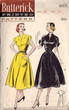 butterick dress 6017