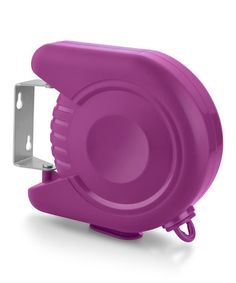 Look what I found on #zulily! Purple Delight Retractable Clothes Line #zulilyfinds