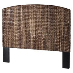 Andres Seagrass Headboard.This is almost identical to the one sold at Pottery Barn for $450 but this one costs $300.