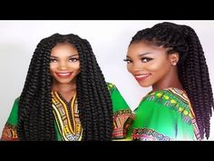 Individual Crochet Box Braids | No Cornrows! New Method! Long Large 90's Inspired Braids in 2-3 Hrs - YouTube