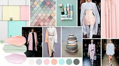 pastels Layout, Fashion Colours, Mood Boards, Minimalism, Street Style, Chartres, Design, Fashion Trends, Pastels